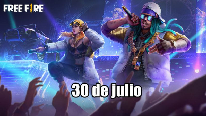 Today's Free Fire Codes July 30, 2021;  all free rewards