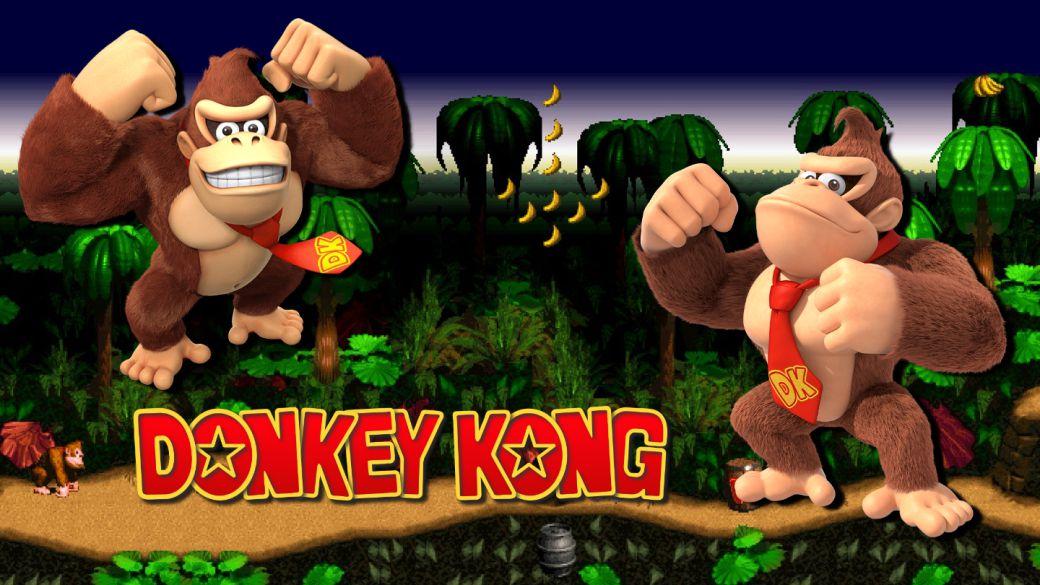 ¿Por qué Donkey Kong se llama así?
