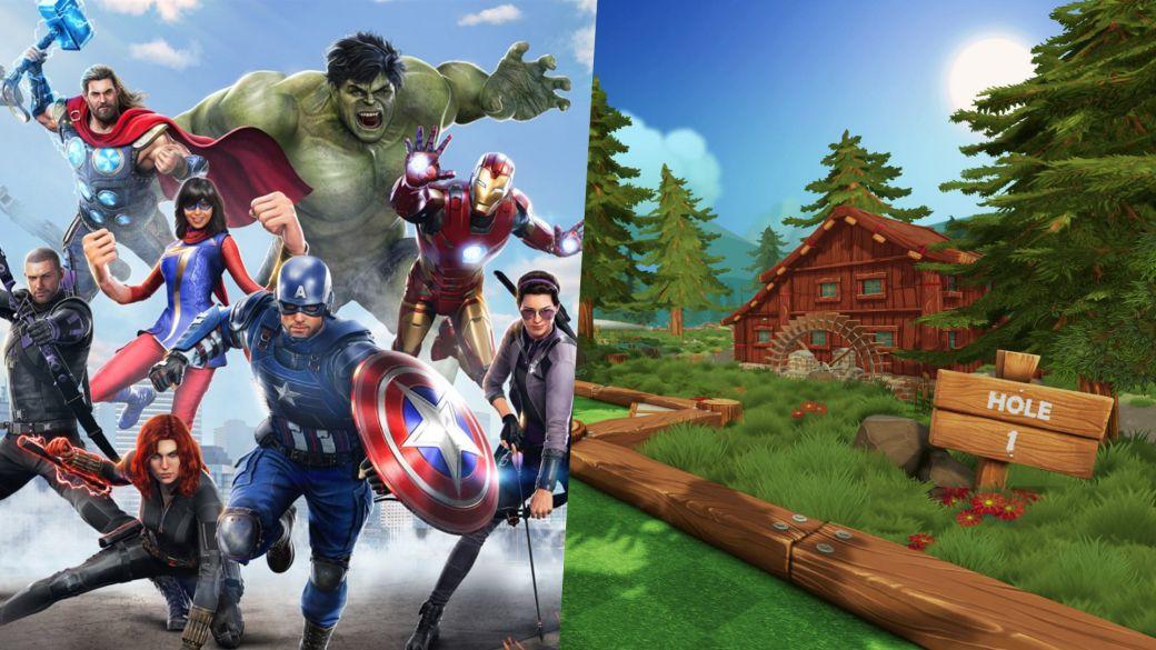 Juegos gratis 30 julio 1 de agosto fin de semana marvel s avengers ps4 ps5 pc stadia