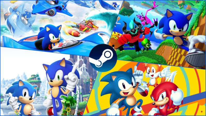 Sonic is celebrating on Steam: discounts of up to 90% in the saga