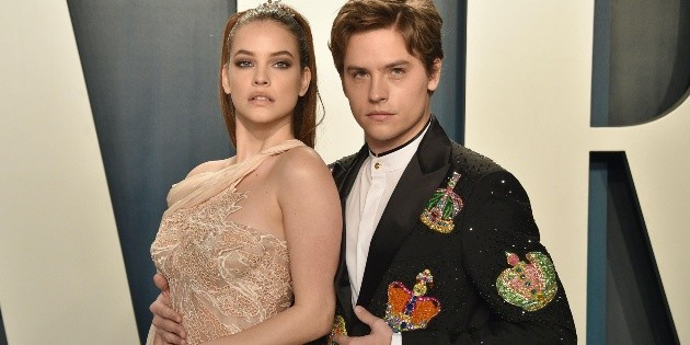 What is the relationship between Barbara Palvin and Dylan Sprouse like?