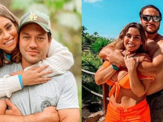 Ethel Pozo and Julián Alexander traveled to Mexico to enjoy a short vacation