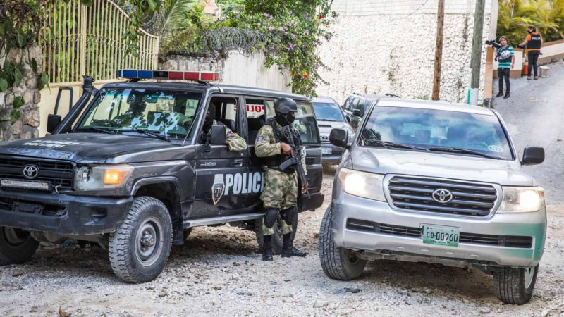 A former Haitian official arrested as responsible for giving the order to assassinate President Moise