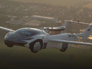AirCar: the car that becomes an airplane in two minutes passed an 80 kilometer flight test