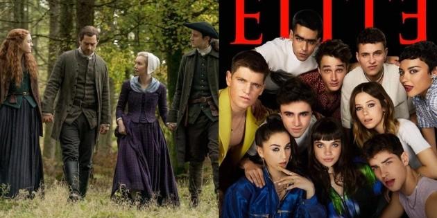 An Elite actor's nod to Outlander: is he a fan?