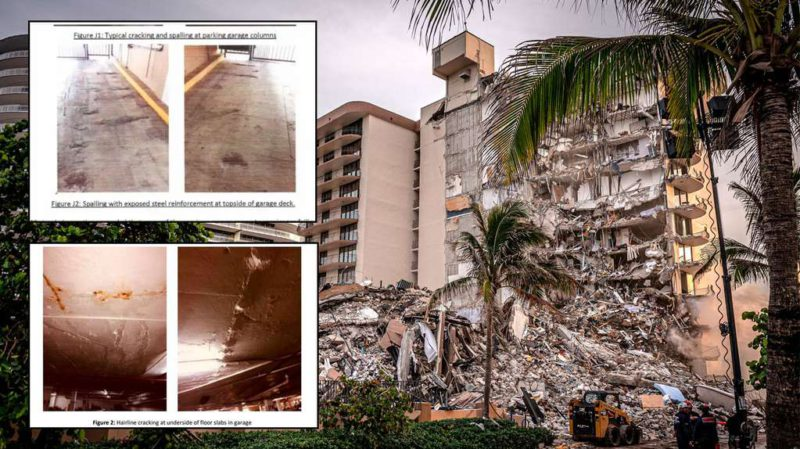 """Collapse in Miami: a 2018 report warned of a """"major error"""" in the design of the Champlain Tower that collapsed"""