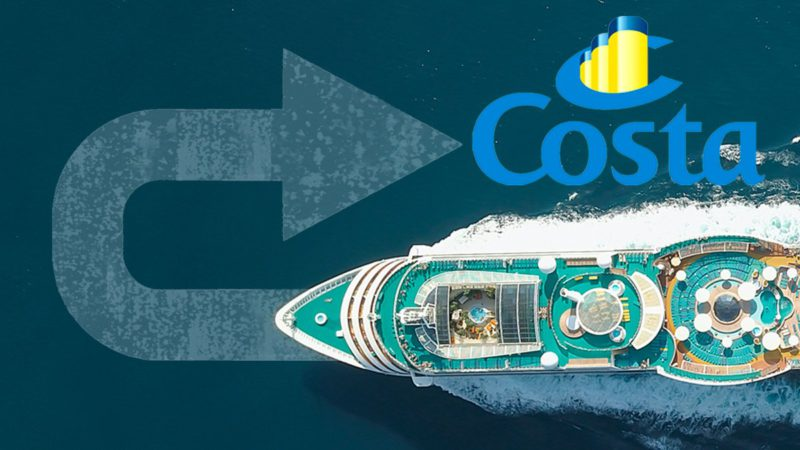 Costa Cruises leaves Andalusia and the Canary Islands out of its travel schedule for the month of August