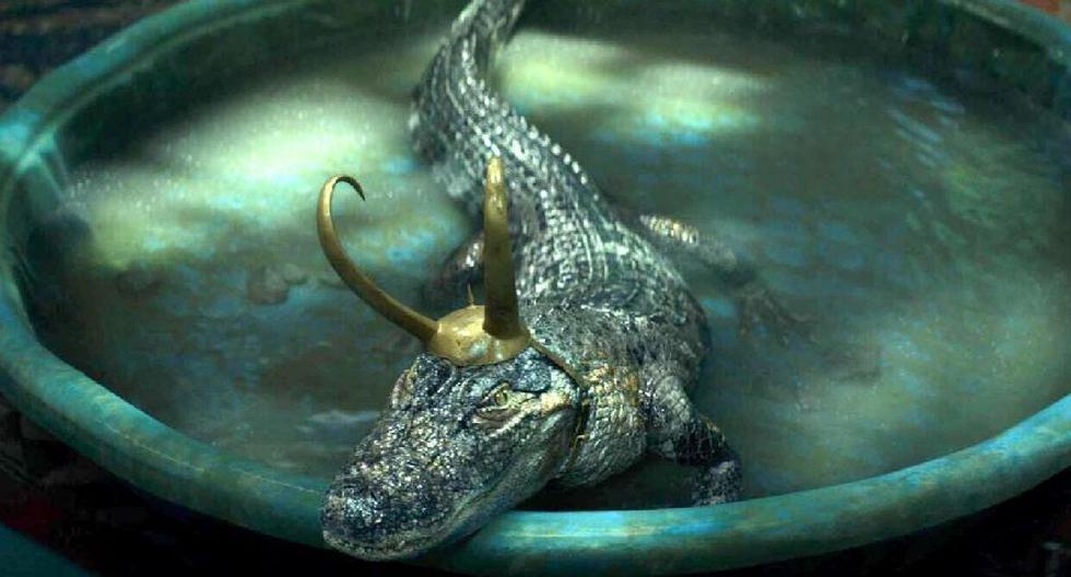 Marvel reveals what Alligator Loki looks like before CGI