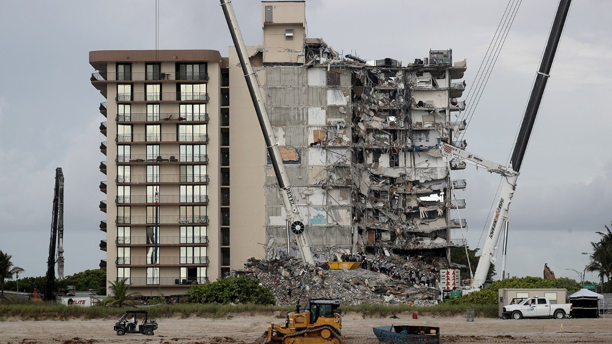 Deaths in the Miami collapse increase to 24 and the missing are 124