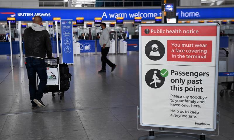 England will lift quarantine for vaccinated travelers from the EU and the US.