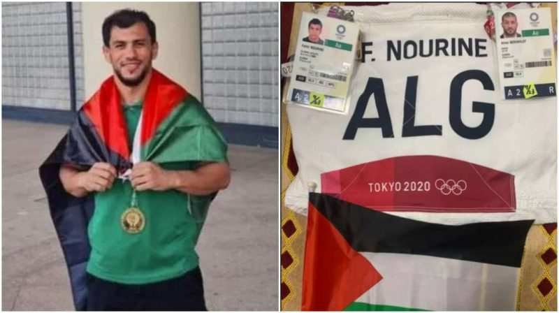 """""""I would not get my hands dirty"""": the aberrant argument of an Algerian judoka who resigned from the Olympic Games to avoid facing an Israeli competitor"""