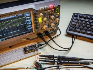 Introduction to working with the oscilloscope