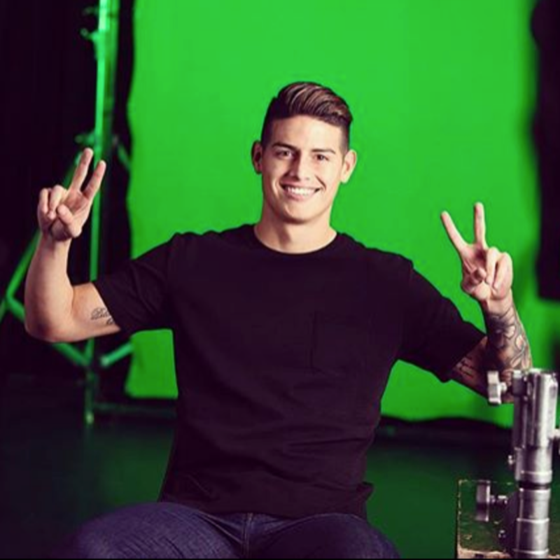 James Rodríguez showed his facet as an actor and ... We loved it!