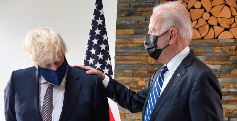 Johnson and Biden's not-so-special relationship