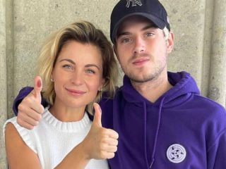 Ludwika Paleta makes her debut as a mother-in-law!  Meet your handsome son's girlfriend