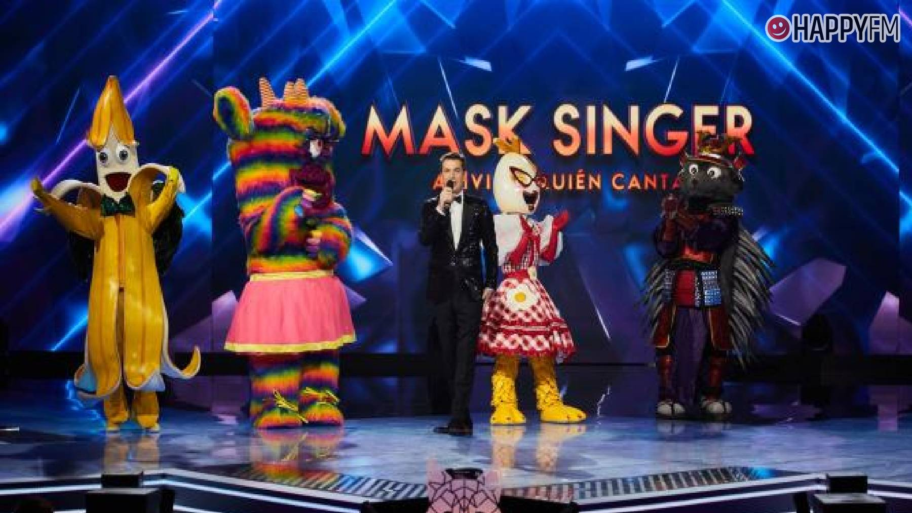 'Mask Singer': Discover the four masks that will face each other in the final
