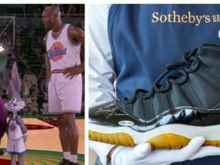 """Michael Jordan's sneakers in """"Space Jam"""" will be auctioned for millions"""