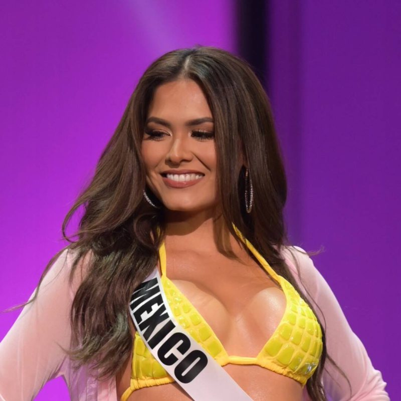 Miss Universe Andrea Meza confirms and reveals the aesthetic retouch she underwent
