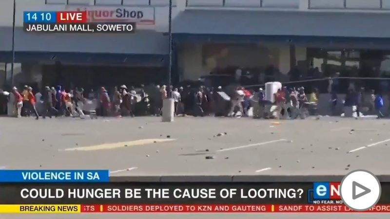 More than 300 dead and massive looting in South Africa due to the imprisonment of former president Zuma