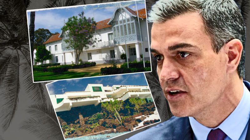 Pedro Sánchez's vacations: these are the summer residences of the President of the Government