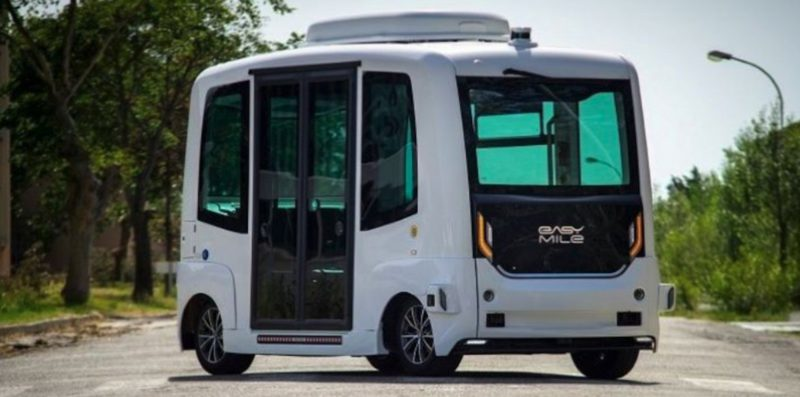 Pilot project: autonomous shuttle bus drives in Magdeburg