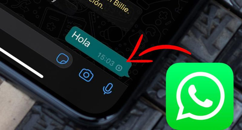WhatsApp: what does the clock mean when I send a message and how do I fix it
