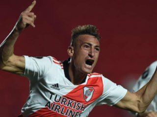 Right to the angle and appearance of the scorer: Braian Romero's two goals for River's victory over Argentinos