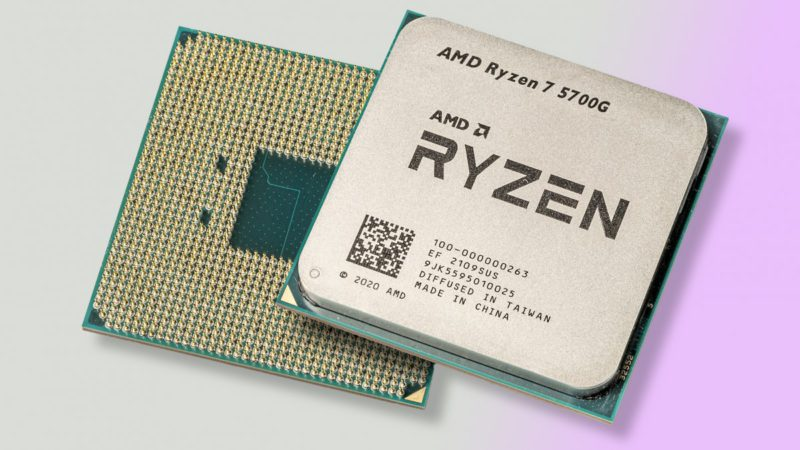 Ryzen 7 5700G with integrated graphics in the test: Economical Zen 3 CPUs for office PCs