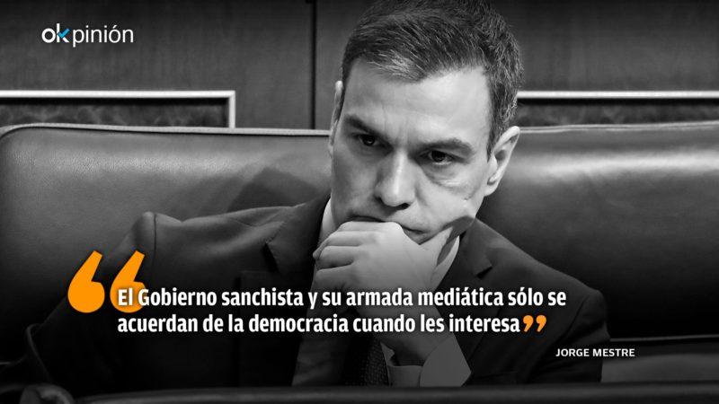 Sánchez's democratic sectarianism
