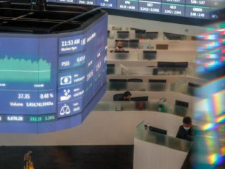 Southeast Asian stock markets open the week with general falls