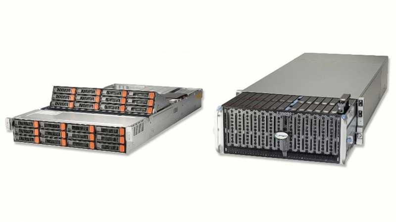 Supermicro: New storage systems with a capacity of up to 1.6 petabytes