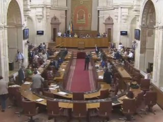 Surprise in the Andalusian Parliament: a mouse appeared and they had to suspend the session