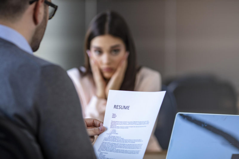 The 7 most serious and common mistakes on your resume, according to an expert