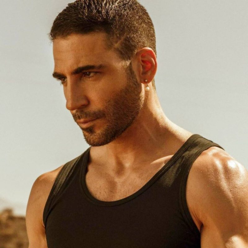 The daring nude of Miguel Ángel Silvestre in Sky Rojo is covered in a great controversy
