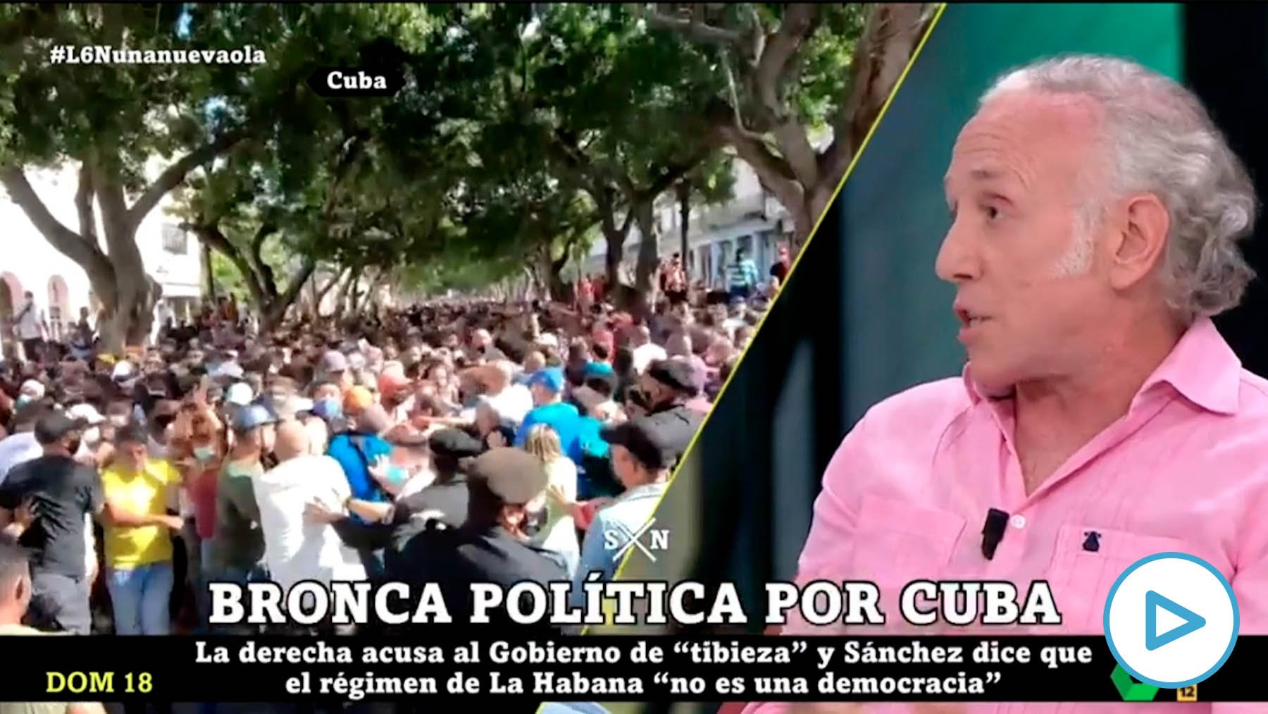 """""""The dictatorship of Cuba will only fall with international pressure as happened with apartheid"""""""