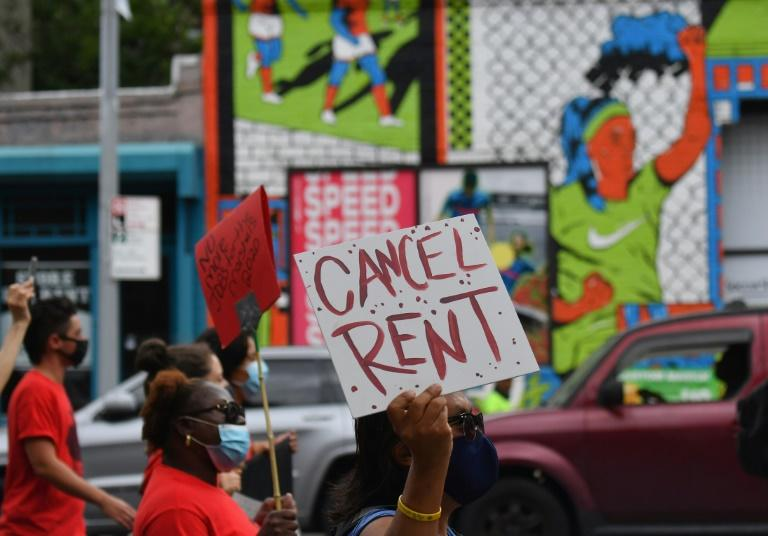 The eviction threatens millions in the US in full increase of the Delta variant