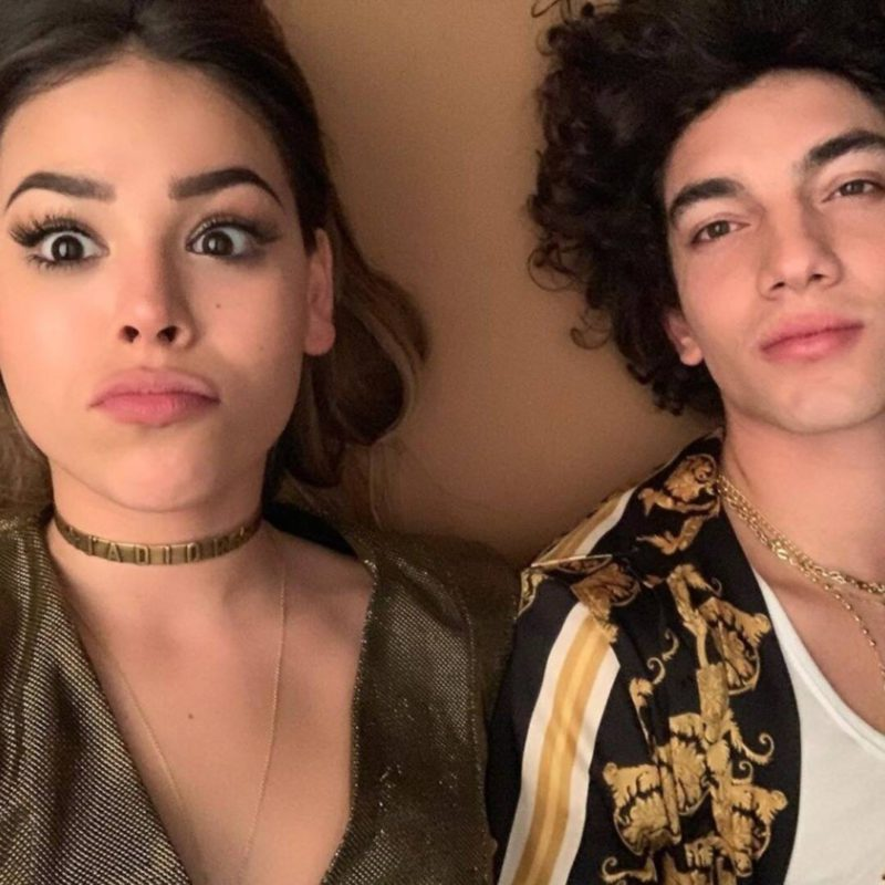 The expected reunion of Danna Paola and Jorge López