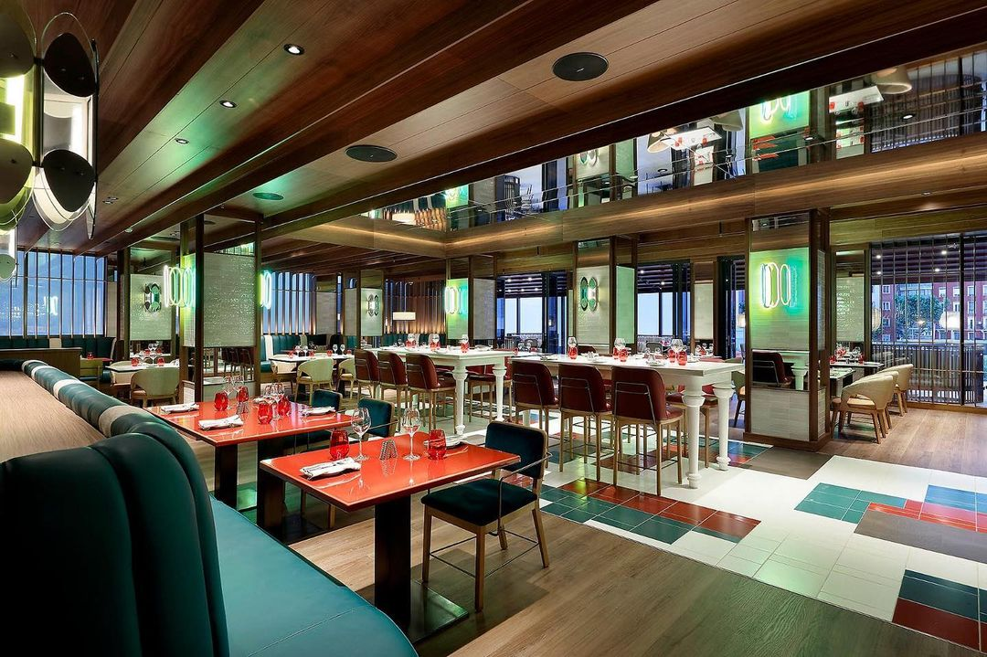 Sessions restaurant / Photo: @hrhmadrid