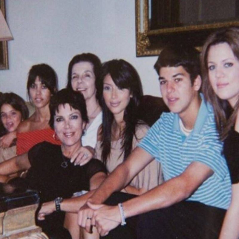 These old photos of the Kardashian family will give you too much nostalgia