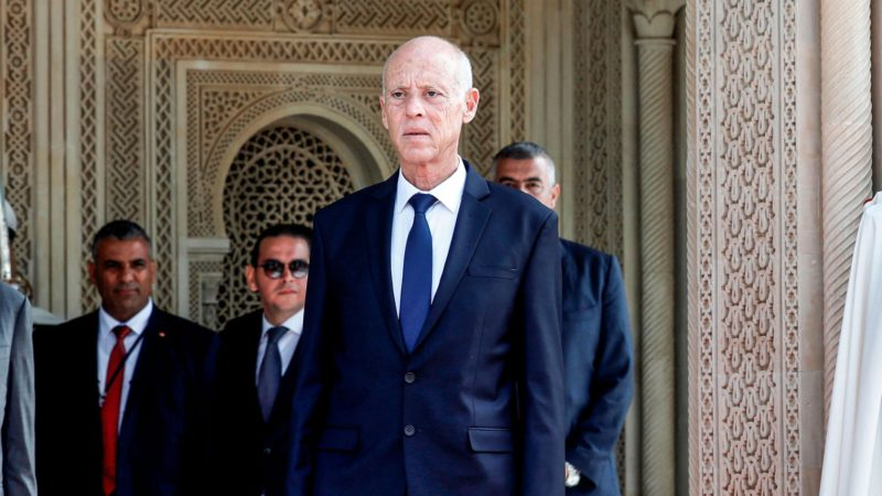 Tunisian President dismisses Prime Minister and assumes control of Government