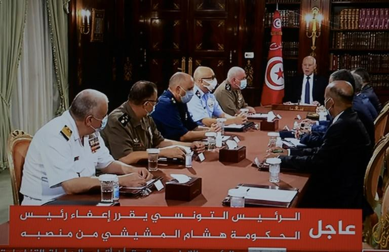 Tunisian president suspends parliamentary activity and grants himself full executive powers