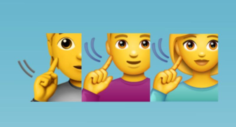 WhatsApp: know the meaning of the person touching the ear