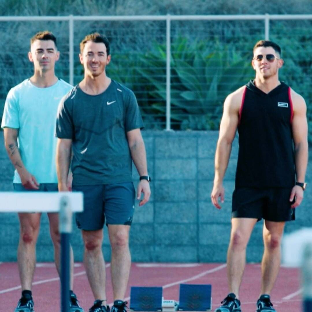 Watch the Jonas Brothers pursue their dream of being Olympians here