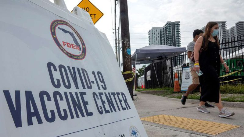 With the entry of the Delta variant and the vaccination campaign stalled, the US issued an alert for the rise in coronavirus cases