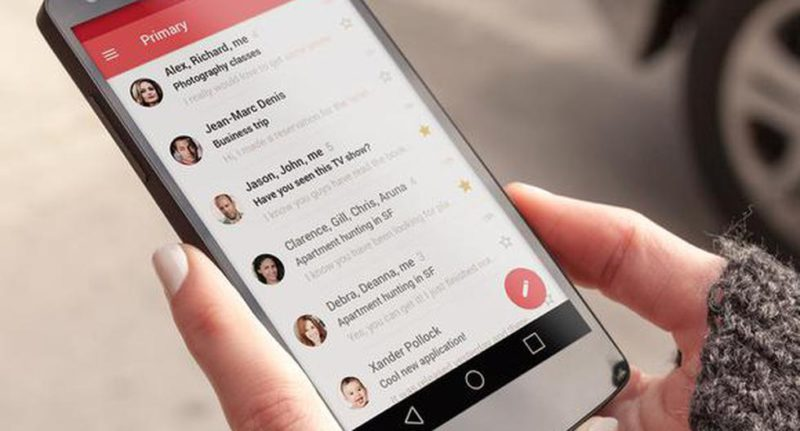 Gmail: these are the three new statuses that were included in the app's chat