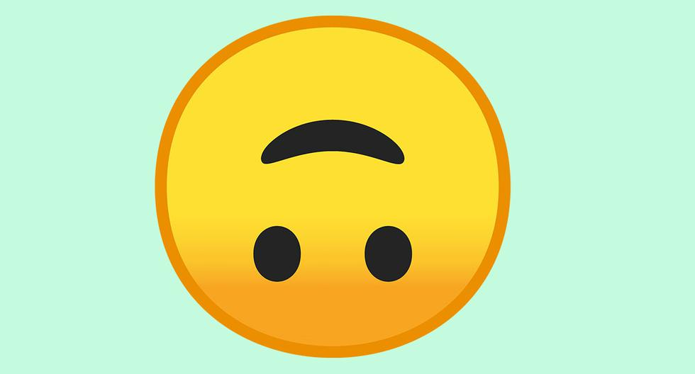 WhatsApp and the real meaning of the upside-down face emoji: know when to use it