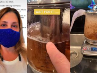 """""""You don't know how to use it"""": a US writer wanted to expose the alleged failure of an electric kettle on TikTok and unleashed a wave of lapidary comments"""