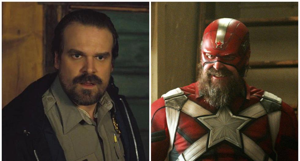 """Black Widow"": David Harbor got stuck in the Red Guardian costume"