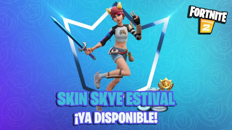 Fortnite Club August 2021: Skye Estival skin and her items now available