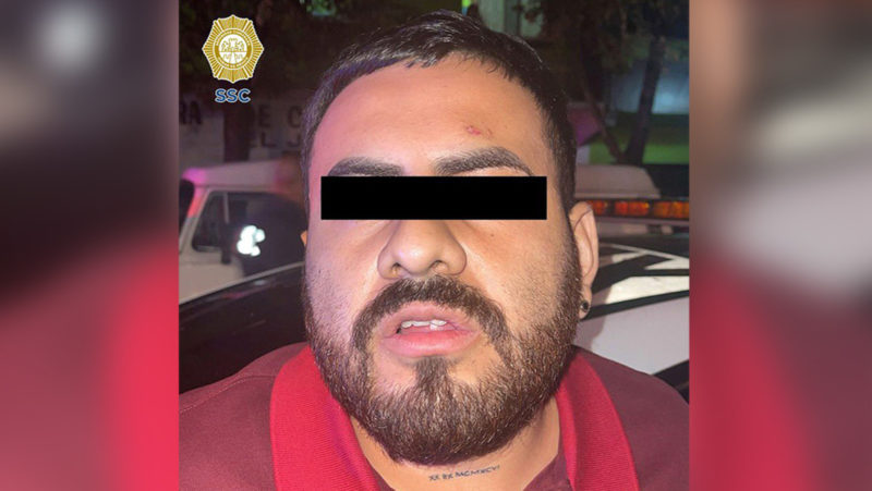 Detienen en Ciudad de México a uno de los principales extorsionadores de la Unión Tepito